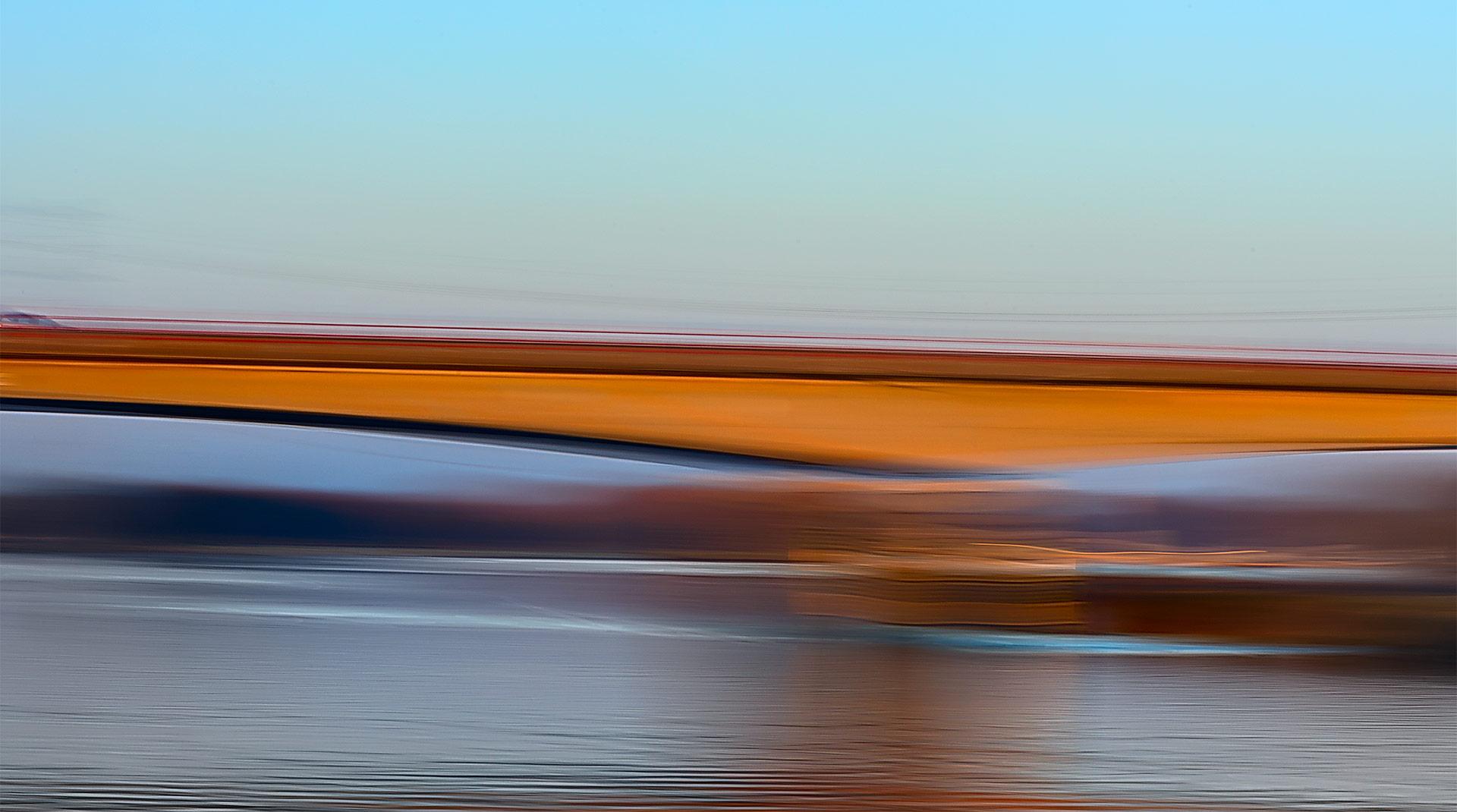 Bridge at Panheel, Holland.