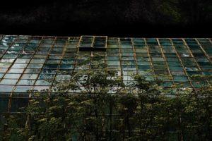 Green House in biological garden Amelisweert